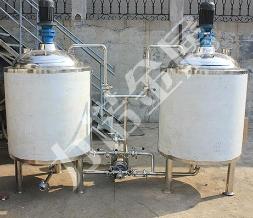 不锈钢搅拌设备