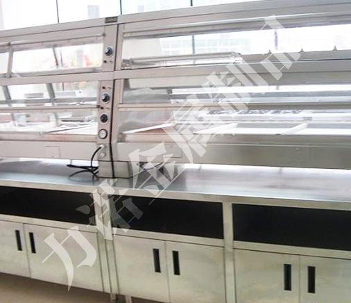 食品机械展柜