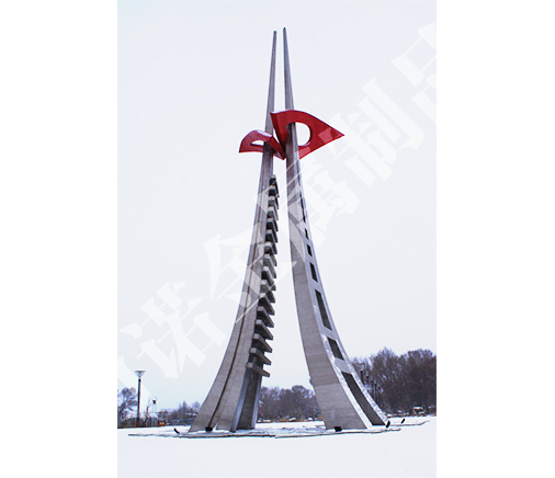 不锈钢雕像建筑