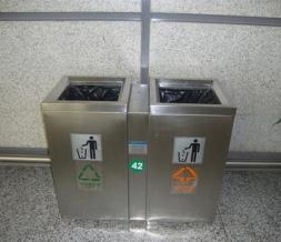 鞍山不锈钢垃圾桶