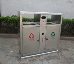 鞍山不锈钢分类垃圾桶